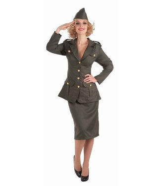 Forum Novelties WWII Army Girl - Adult Costume 14/16