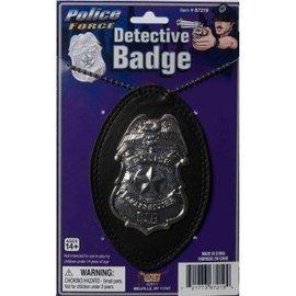 Forum Novelties Detective Badge On Chain (C12)