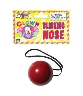 Forum Novelties Blinking Clown Nose