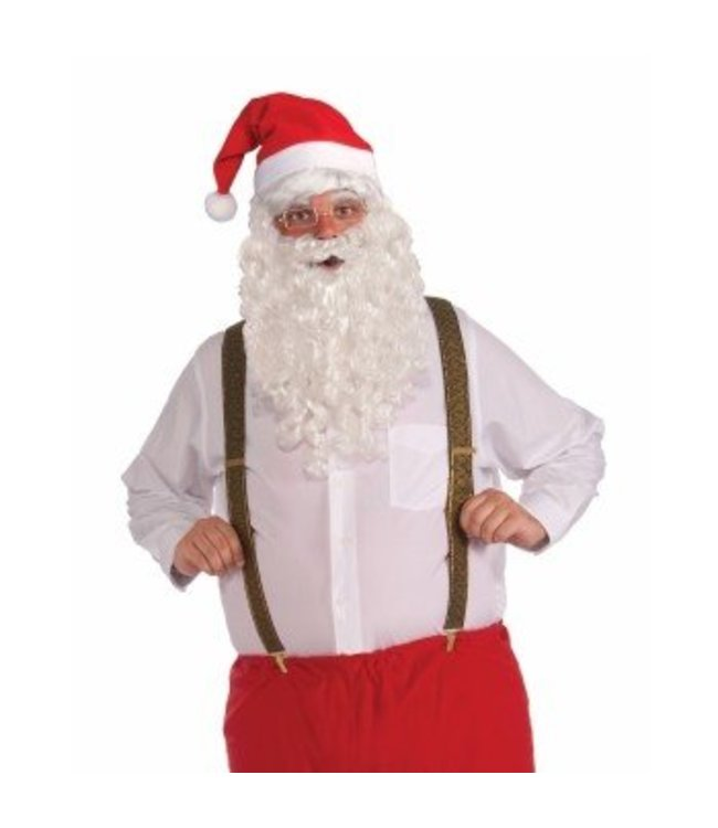 Forum Novelties Suspenders - Santa
