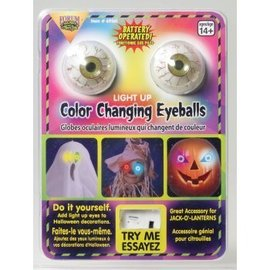 Forum Novelties Color Changing Light-Up Eyes