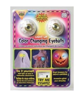 Forum Novelties Color Changing Light-Up Eyes