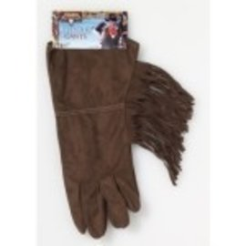 Forum Novelties Brown Fringe Gloves