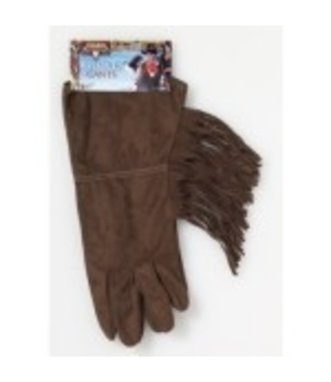 Forum Novelties Brown Fringe Gloves