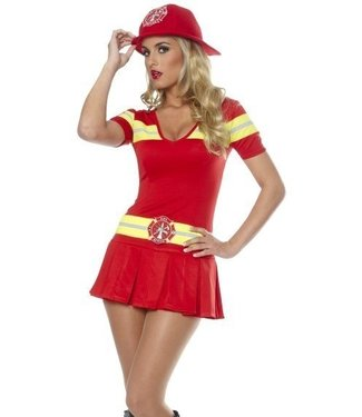 Costume Culture by Franco American Hot Stuff , Fire Fighter - Medium 8-10 (407.5)