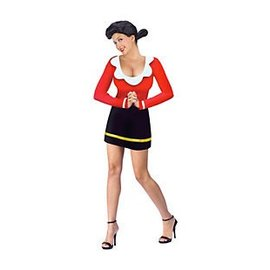 Fun World Olive Oyl Adult M/L 10-14