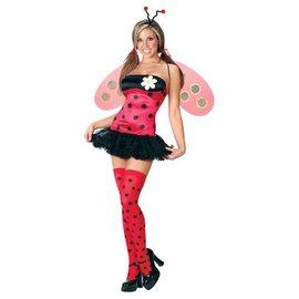 Fun World Leggy Ladybug Large 10-14