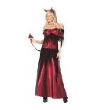 Fun World Devil Temptress Sorceress M/L 10-14