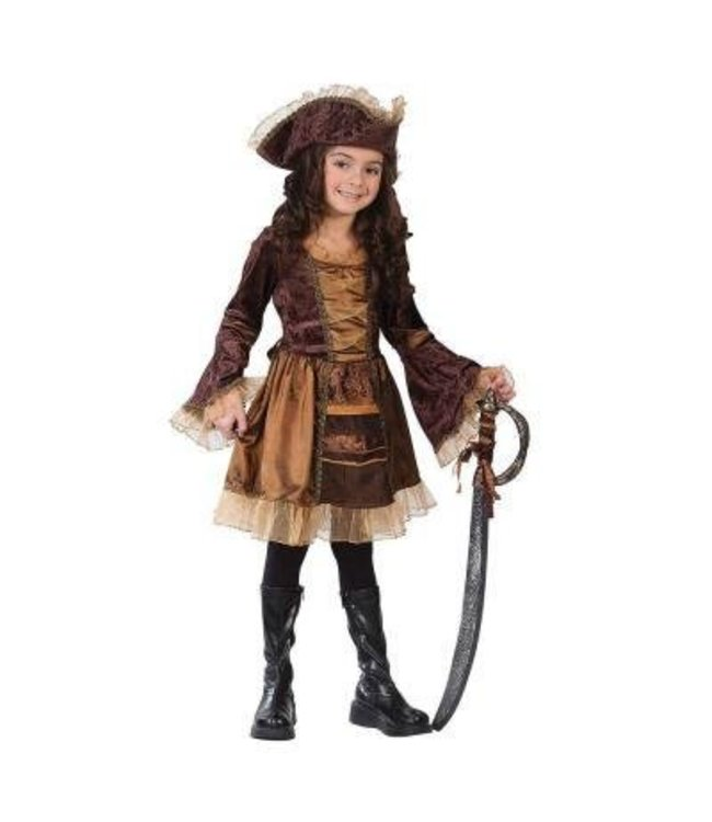 Fun World Sassy Pirate - Child Small