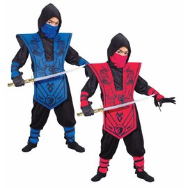 Fun World Complete Red Ninja - Child Large 12-14