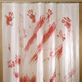 Fun World Bloody Shower Curtain