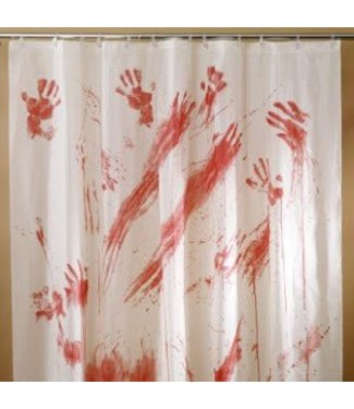 Fun World Bloody Shower Curtain