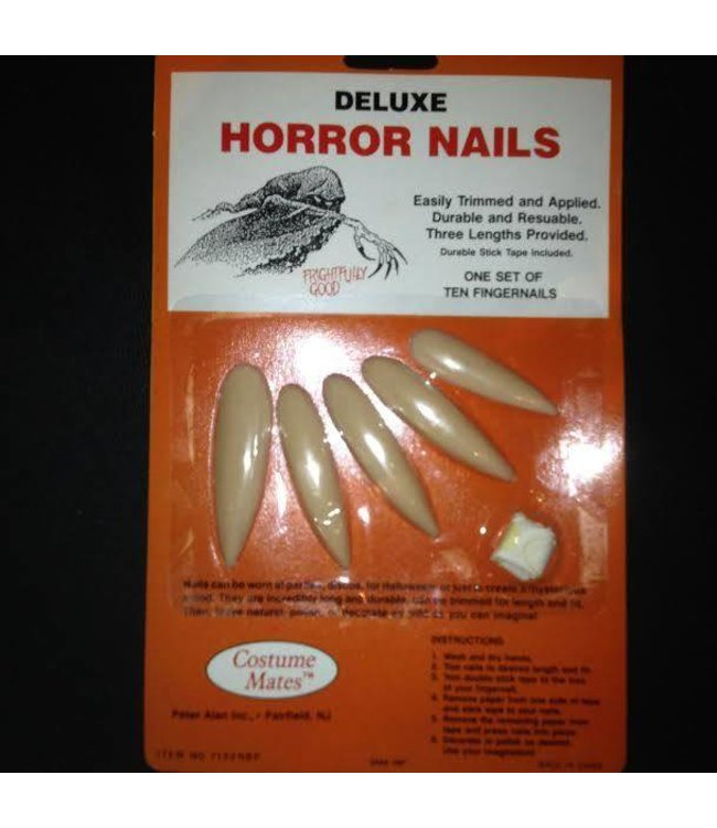 Deluxe Horror Nails by Costume Mates