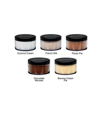 Graftobian Make-Up Company Luxecashmere HD Setting Powder - Banana Cream Pie  .70 oz.