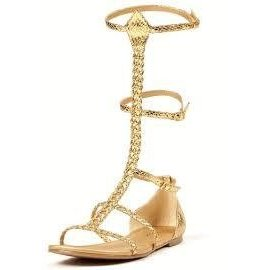 Cairo Gladiator Shoes - Size 9 by Ellie Shoes