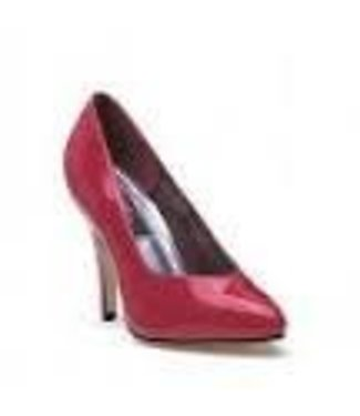 Shoes - Pumps 4 Inch Heel  Red Size 8 by Ellie Shoes