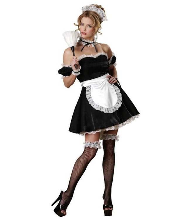 InCharacter SUPER SALE Oui-Oui French Maid Adult Medium Costume by InCharacter