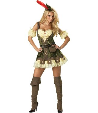 InCharacter SUPER SALE Racy Robin Hood Adult Extra Small Costume by InCharacter