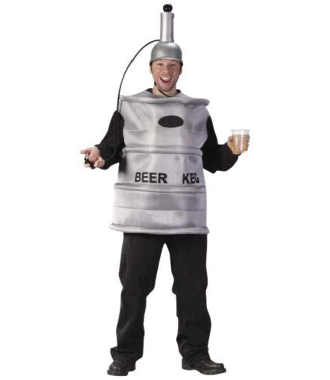 Fun World Beer Keg with Working Tap