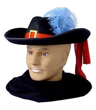 Forum Novelties Musketeer  Hat with Plume