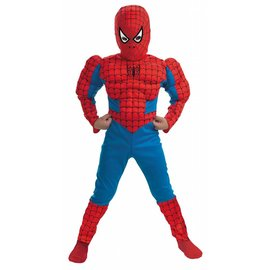 Disguise Spider-Man  Muscle - Child Size 7-8