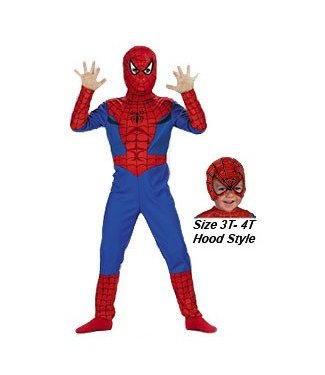 Disguise Spiderman, Comic-  Child 10-12