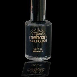 Mehron Nail Polish - Black