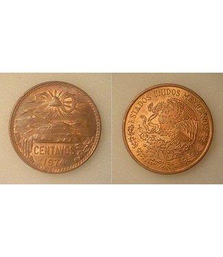 Mexican Centavos,  20 Centavos Coin By Mexican Mint - La Casa de Moneda de México (M10)