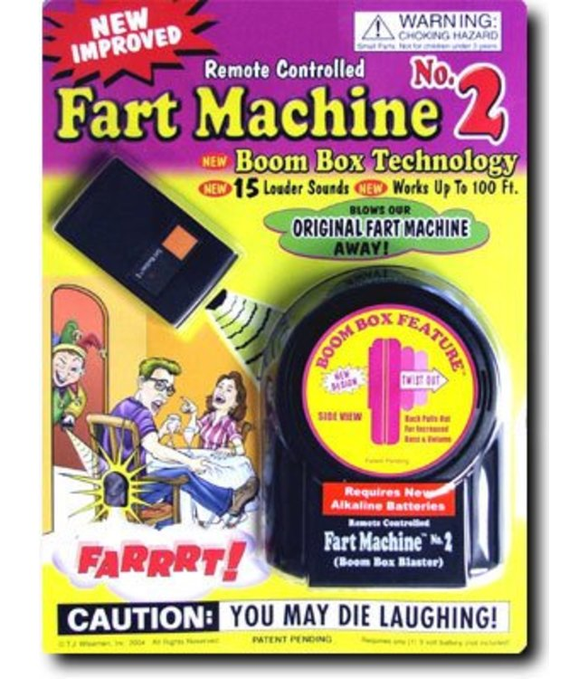Remote Controlled Fart Machine #2 by T.J. Wiseman LTD