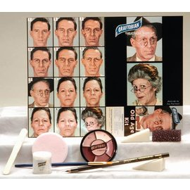 Graftobian Make-Up Company Old Age Theatrical Make-Up Kit (C3)