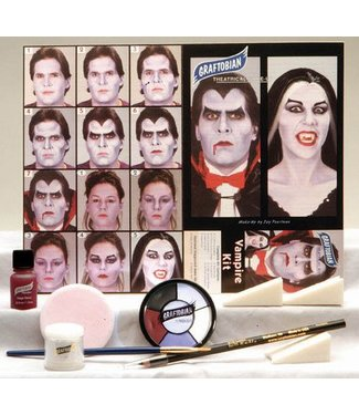 Graftobian Make-Up Company Vampire Theatrical Make-Up Kit (C3)