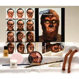 Graftobian Make-Up Company Werewolf Theatrical Make-Up Kit (C3)
