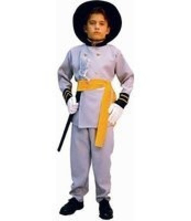 RG Costumes And Accessories Confederate Officer, Child Small 4-6