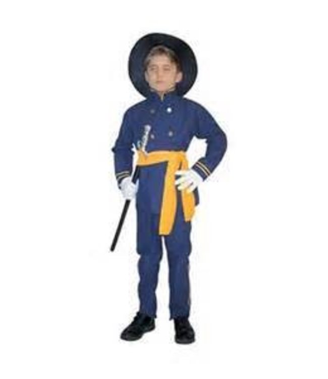 RG Costumes And Accessories Union Officer Small 4-6