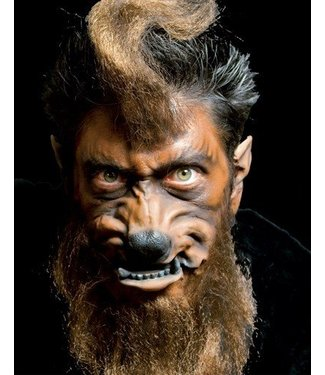 Cinema Secrets Werewolf Face Prosthetic by Woochie