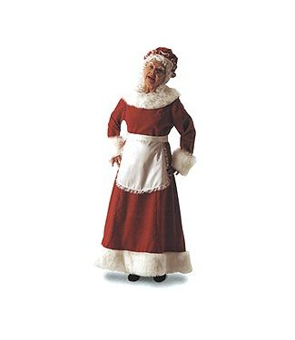 Halco Dlx Mrs. Claus - Adult Large 16-18