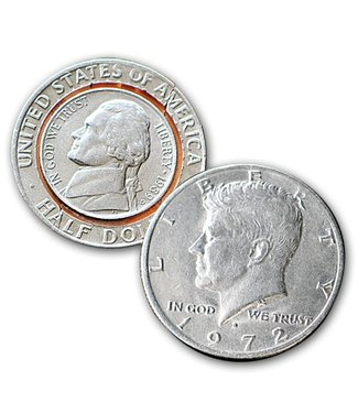 Nickel to Half Dollar, Folding Turnover Coins by Sasco(M10)