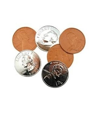 Jumbo Coin Plastic Assorted (M10)