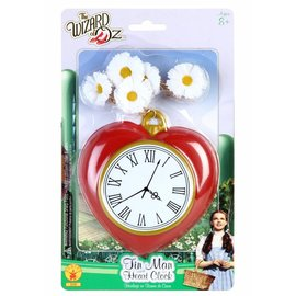 Rubies Costume Company Tin Man Heart Clock (C14)