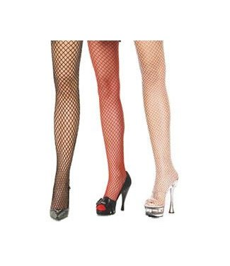 Leg Avenue Fishnet Tights red