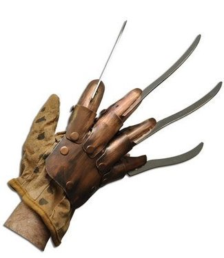 Rubies Costume Company Freddy Krueger, Original Supreme Edition Replica Metal Glove