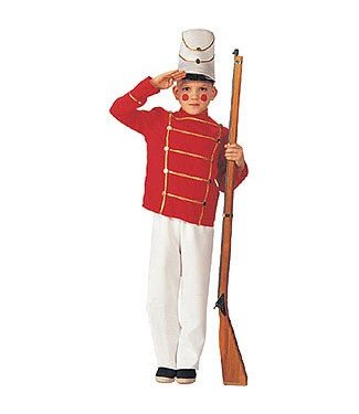 Rubies Costume Company Wooden Soldier - Child Small 3-4 Years