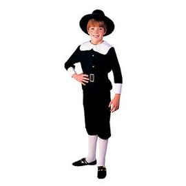 Rubies Costume Company Pilgrim Boy - Child Large 12-14