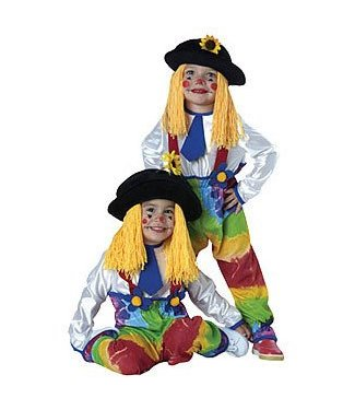 Rubies Costume Company Colorful Clown Size 2-4
