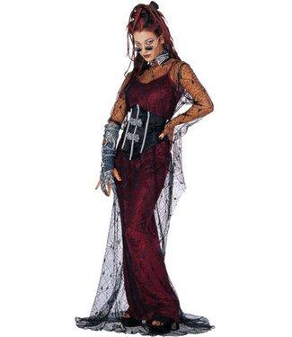 Rubies Costume Company Contessa De Muerte teen 2-6 size