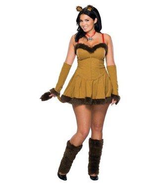 Rubies Costume Company Cowardly Lion - Plus Size - Wizard of Oz ladies