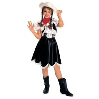 Rubies Costume Company Annie Oakley small