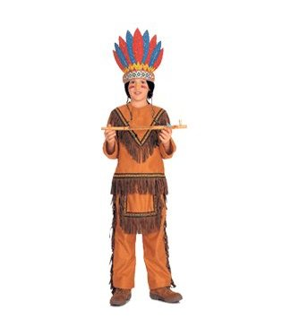 Rubies Costume Company Native American Boy - Child Large 12-14