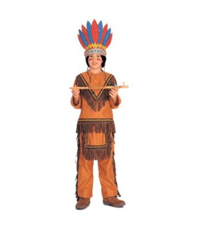 Rubies Costume Company Native American Boy - Child Med 8-10