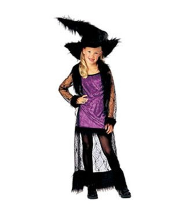 Rubies Costume Company Mystic Purple Witch small 4-6